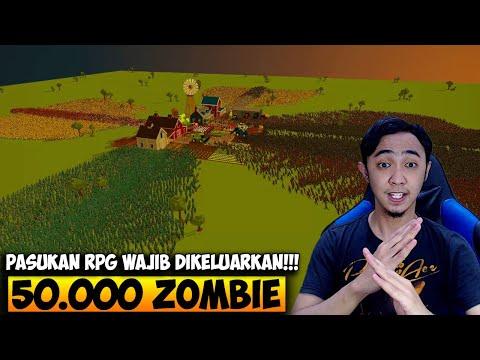 50.000 ZOMBIE MENYERANG PERTAHANAN TERAKHIR MANUSIA - SWARMZ INDONESIA #3 - 동영상