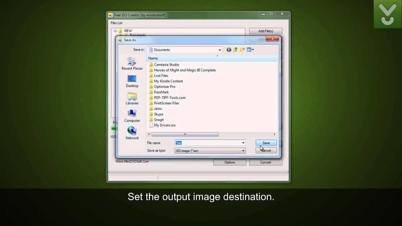 Free ISO Creator - Create ISO images from folders or data discs - Download  Video Previews