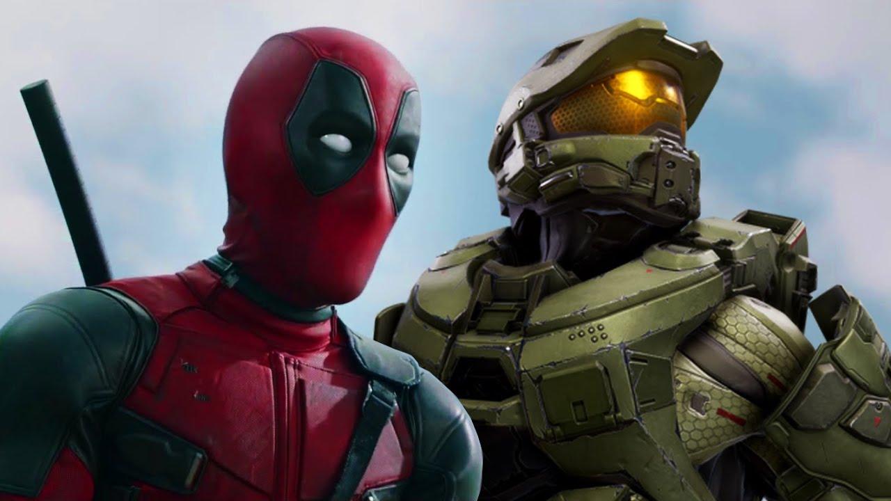 Halo Deadpool Chief Vs Locke Clip Mashup Hd 720p