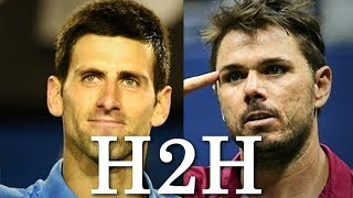 Djokovic vs Wawrinka - All 24 H2H Match Points (HD)
