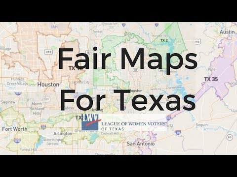Fair Maps For Texas!