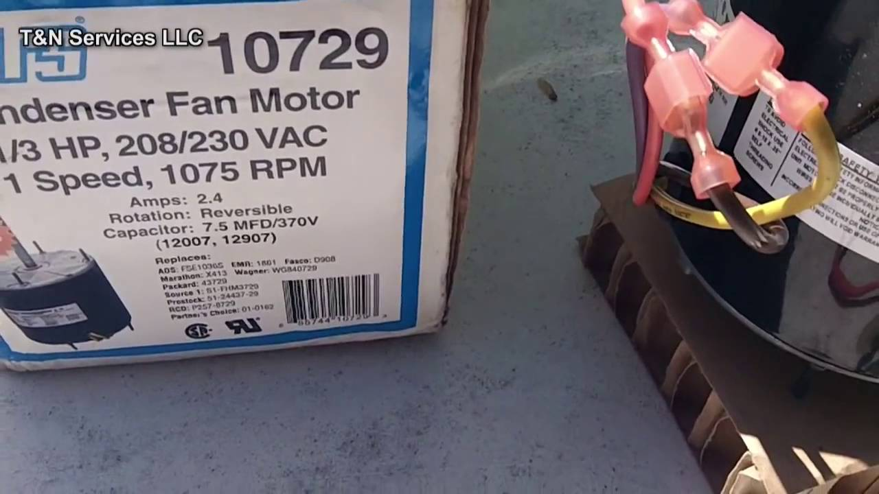 hight resolution of how to install an aftermarket condenser fan motor
