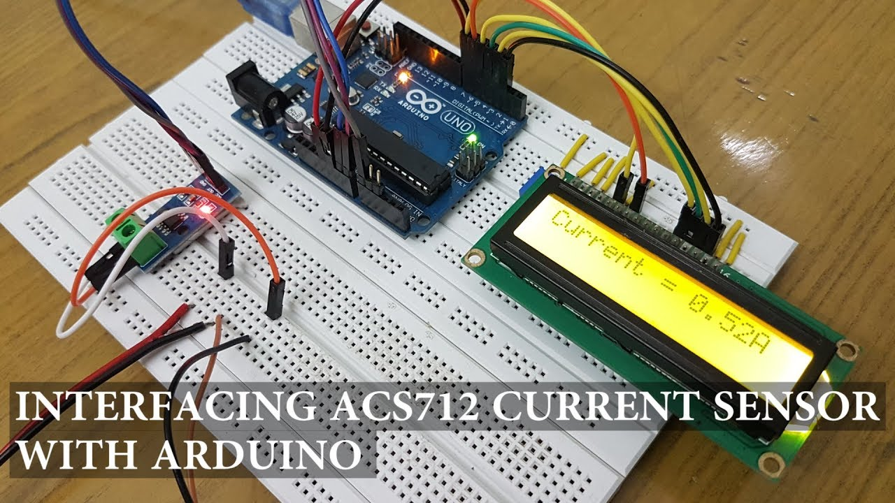 Interfacing ACS712 Current Sensor with Arduino - Measure