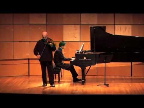 Wieniawski Mazurka No. 2, Elmar Oliveira - violin, Tao Lin - piano