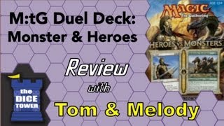Download Video M:tG Duel Decks:  Heroes vs.Monsters Review - with Tom and Melody Vasel MP3 3GP MP4