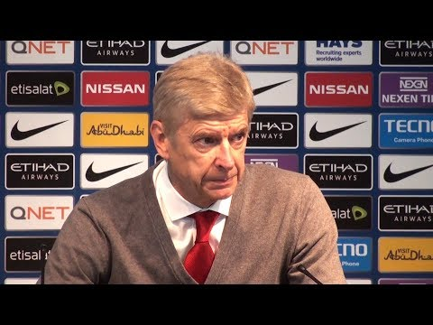 Manchester City 3-1 Arsenal - Arsene Wenger Post Match Press Conference - Premier League