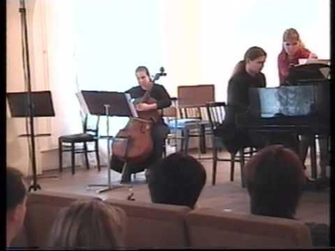 Mohammad-Reza Tafazzoli: Sonata for Cello & Piano (Saint Petersburg-2005)