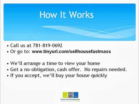 Sell Your House Fast In Nabnasset, How To Sell Your Nabnasset, Massachusetts Home Fast