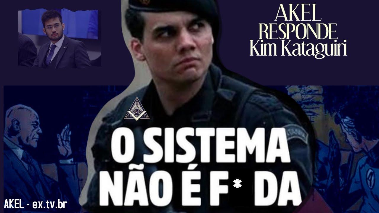 """📢 AKEL responde Kim Kataguiri: """"O SISTEMA não É F*DA!"""""""