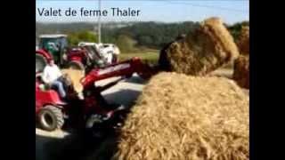 Journée mécanisation en élevages bovins à Bonnut (64) le 14 octobre 2011