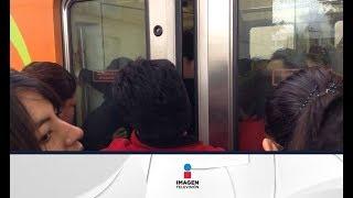 Así te roban la cartera y el celular en el Metro de la CDMX | Noticias con Ciro Gómez Leyva