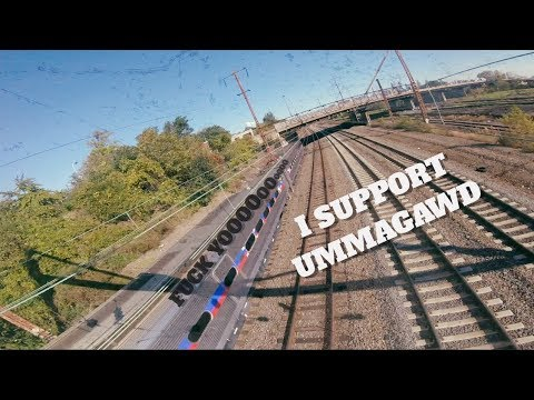 Can a drone derail a train?