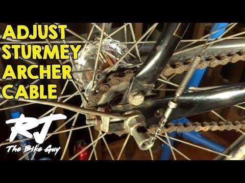 Sturmey Archer SRC3 3-Speed Hub Drum Brake Bicycle Tricycle