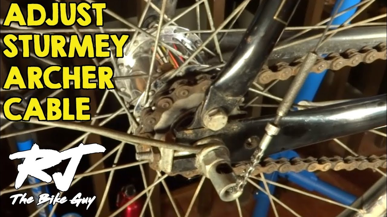 How To Adjust Cable/Shifting On Sturmey Archer 3 Speed Hub