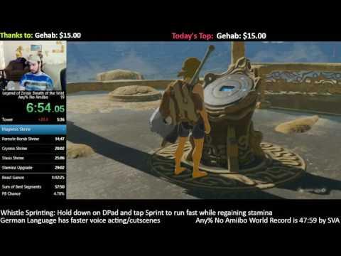 56:30] Zelda: BotW Speedrun Personal Best - YouTube