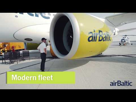 Join airBaltic flight crew