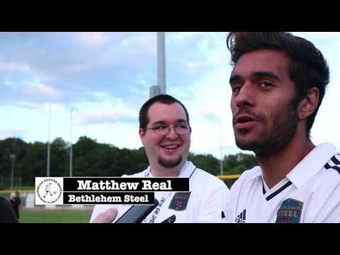 Post-Newtown Match - Bethlehem Steel Interviews