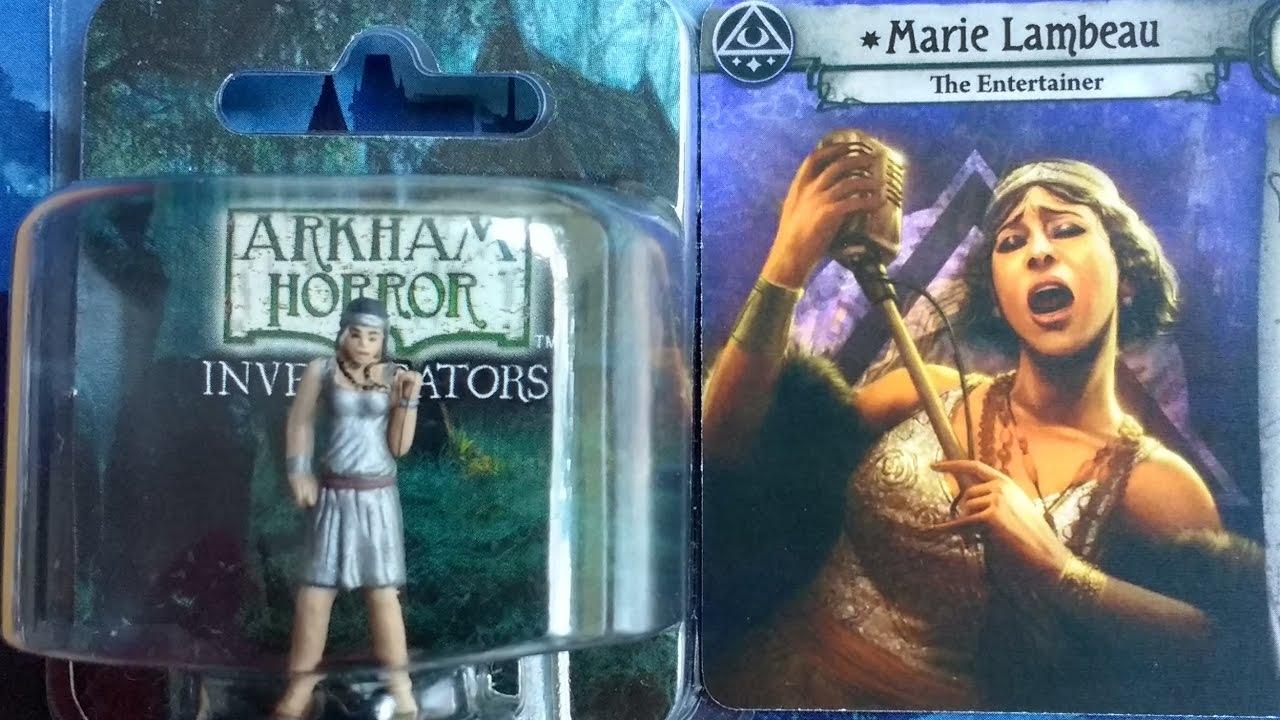 Arkham Horror Lcg Card Game Miniatures Unboxing Dunwich