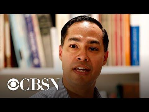 Julián Castro talks 2020 campaign at New Hampshire event