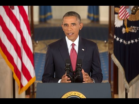 """President Obama: """"We Will Degrade and Ultimately Destroy ISIL"""""""