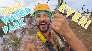 ZIPLINE & 30ft CLIFF JUMP @ Chiang Mai Grand Canyon Water Park