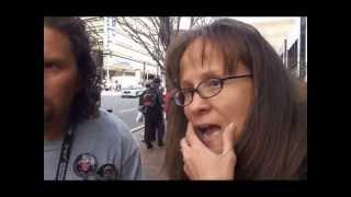 Boston marathon explosion: Eyewitness report (Carlos and Melida Arredondo)