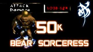 50k Bear Sorceress - Diablo 2
