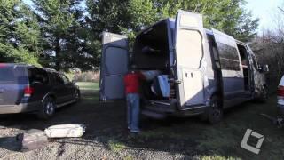 Team Outside Van hit Black Rock Mountain Bike Area in Falls City, OR