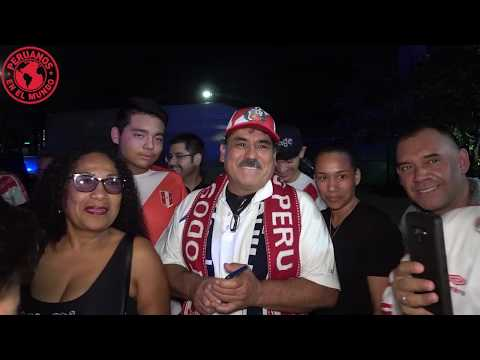Peru vs Colombia (amistoso)  15/11/19 Miami