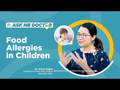 Food Allergies in Children | Ask Me Doctor Season 2