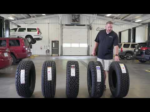 Tire Comparison Video With The General Grabber ATX, BF Goodrich KO2, And Goodyear DuraTrac