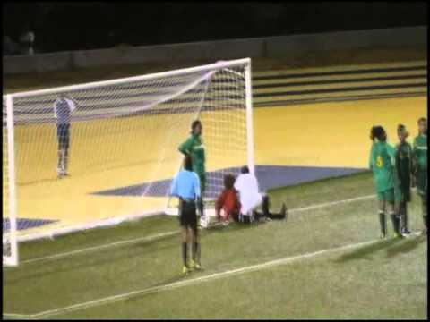 Barbados Vs Dominica in Barbados women football