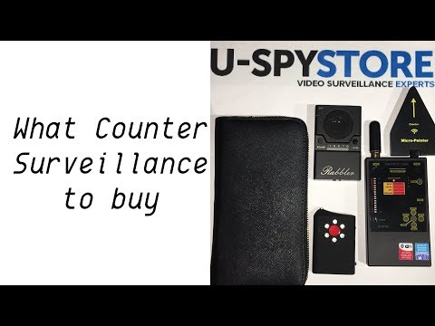 U-SPY STORE: WHAT COUNTER SURVEILLANCE DEVICE SHOULD I BUY?