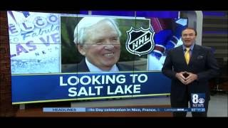 Las Vegas NHL Owner Looks to SLC