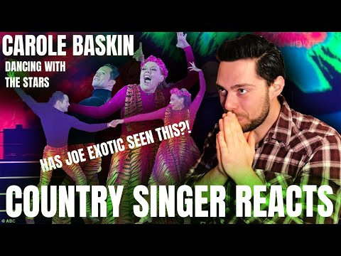 Country Singer Reacts To Carole Baskin On Dancing with the Stars