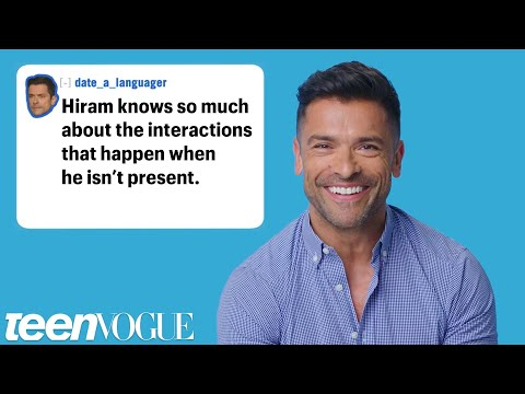 Riverdale's Mark Consuelos Reacts to Riverdale  Theories  Teen Vogue