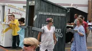 2012 Outhouse Races - Celina, Tennessee