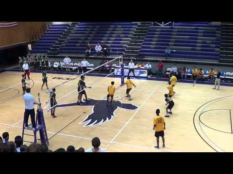 2015 PSAL Volleyball Final Environmental vs. Grover Cleveland (5/27/15)