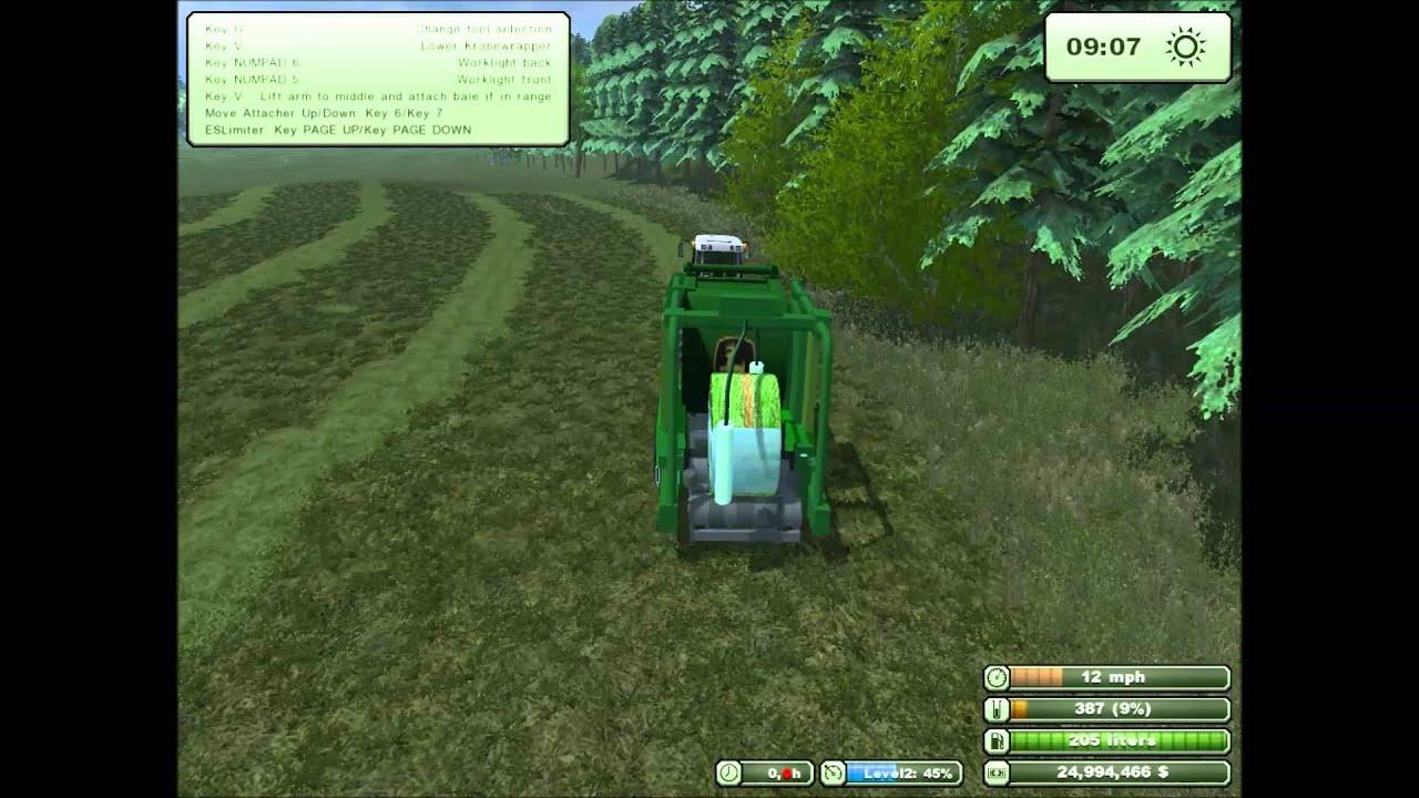 Baling On My Norwegain Map YouTube - Norway map farming simulator 2013