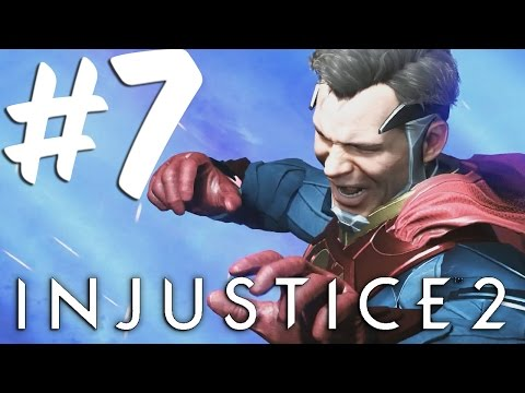Injustice 2 Story Walkthrough Part 7 Death of Superman