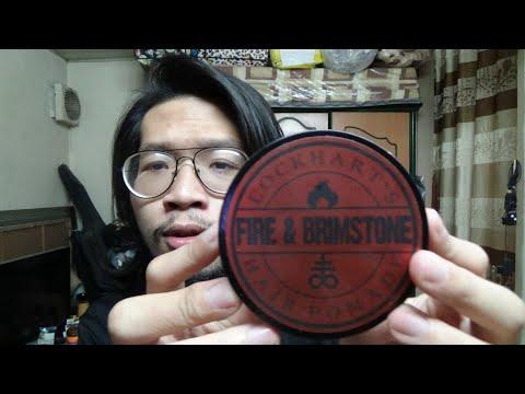 Nguyen Review #234: Lockhart's Fire & Brimstone Heavy Hold - Heavy hold, Medium shine