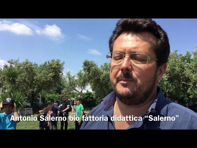 """Ambiente e cibo sano: gli studenti nella bio fattoria didattica """"Salerno"""""""