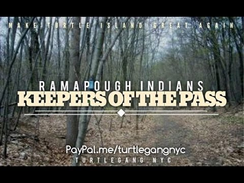 Chief Dwaine Perry &Two Clouds from the Ramapough Lunaape Nation