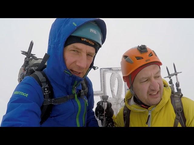 Wysoka 2560 m - trekking (08.04.2018)