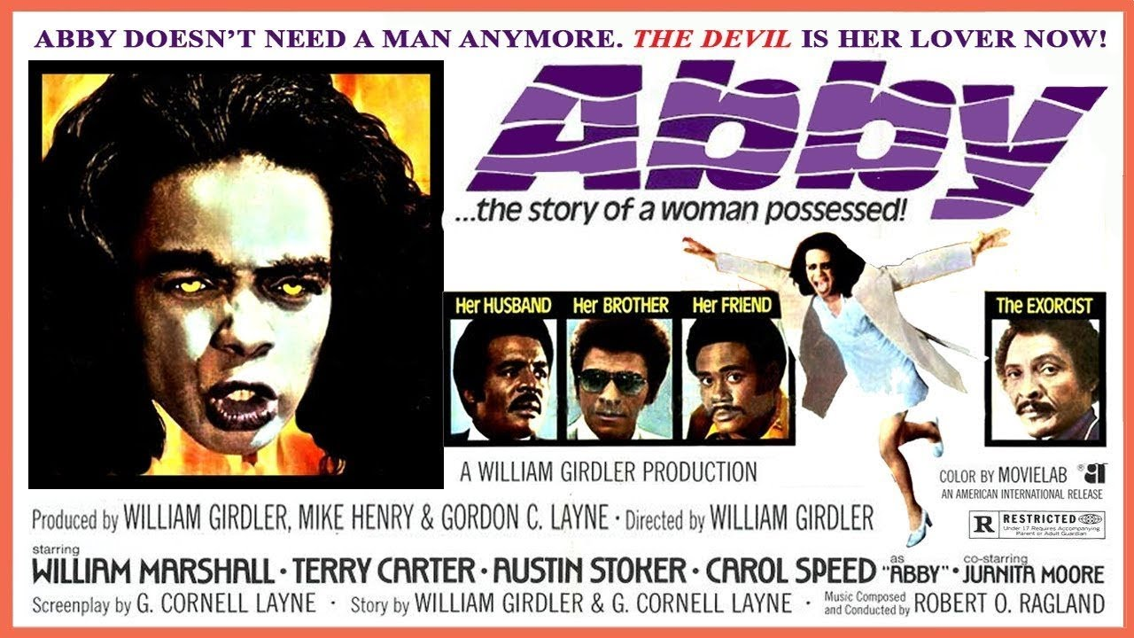 Abby (1974)  | Carol Speed Willam Marshall Terry Carter