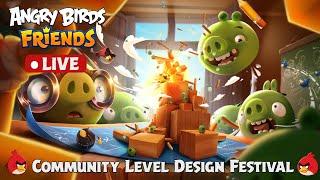 🔴 LIVE | Angry Birds Friends | Community Level Design Festival