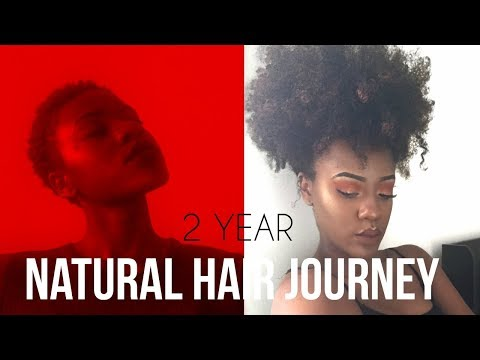 2 Year 4B/4C Natural Hair Journey | Big Chop Update