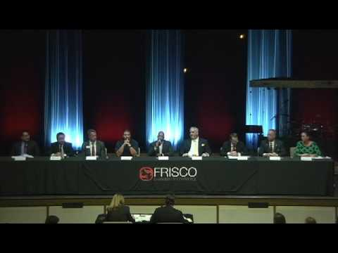 Frisco Chamber of Commerce Candidate Forum for Special Election on 2/18/17