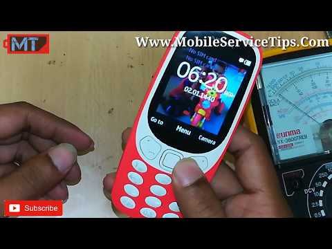 Nokia 3310 TA1030 Full Short Dead