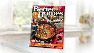 Better Homes and Gardens Magazine (Australia)